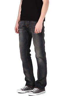 NUDIE JEANS Straight Alf regular-fit straight jeans
