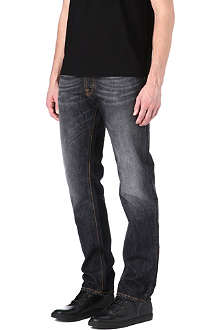 NUDIE JEANS Hank regular-fit straight jeans