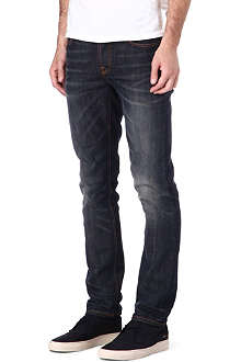 NUDIE JEANS Grim Tim slim-fit pepper jeans