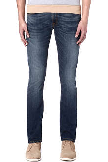 NUDIE JEANS Tube Tom slim-fit straight jeans