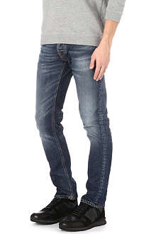 NUDIE JEANS Grim Tim Twisted slim-fit straight jeans