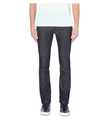 NUDIE JEANS Thin finn slim-fit jeans (Blue