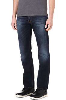 NUDIE JEANS Alf regular-fit straight jeans