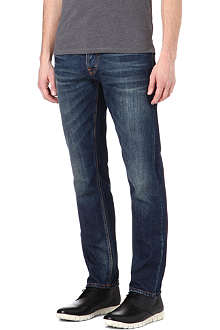 NUDIE JEANS Steady Eddie slim-fit straight jeans