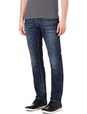 NUDIE JEANS Steady Eddie slim-fit straight jeans