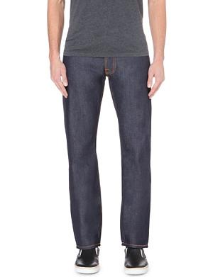 NUDIE JEANS Alf regular-fit straight jeans