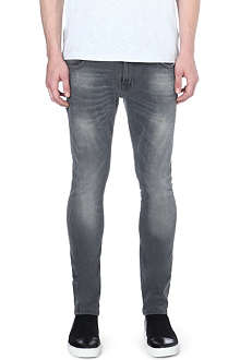 NUDIE JEANS Skinny Lin skinny-fit tapered jeans