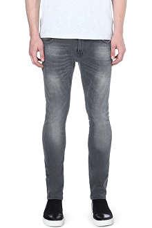 NUDIE JEANS Skinny Lin skinny-fit tapered jeans