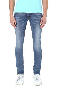NUDIE JEANS Long John slim-fit jeans