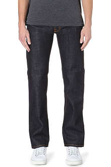 NUDIE JEANS Straight Alf regular-fit jeans