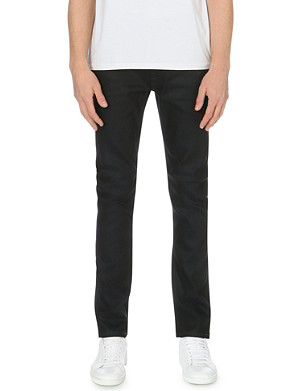 NUDIE JEANS Thin Finn slim-fit tapered jeans