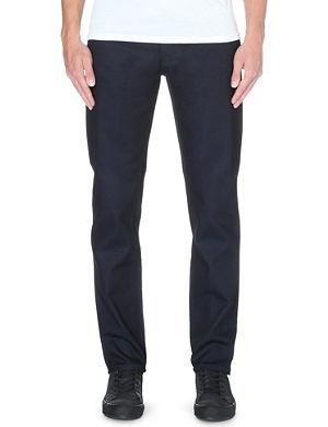 NUDIE JEANS Steady Eddie regular-fit tapered jeans