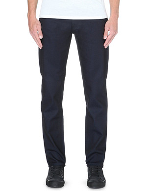 NUDIE JEANS Steady Eddie regular-fit tapered jeans