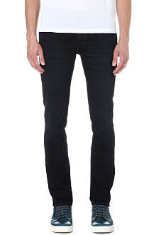 NUDIE JEANS Grim Tim regular-fit straight jeans