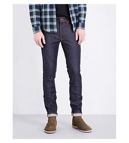 NUDIE JEANS Lean Dean slim-fit skinny jeans (Dry+16+dips