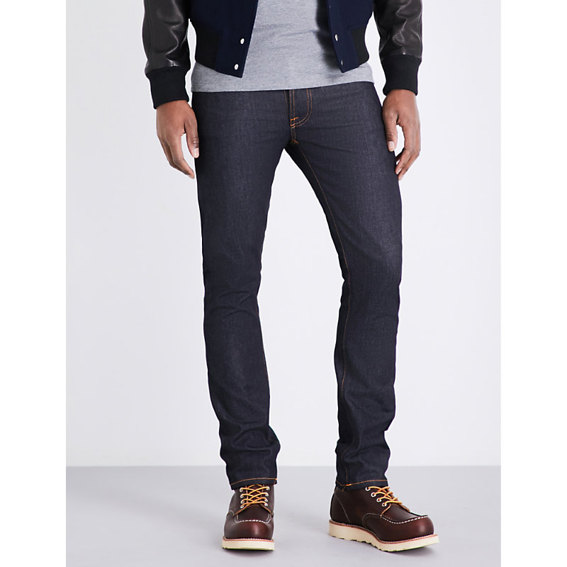 NUDIE JEANS TILTED TOR REGULAR-FIT TAPERED JEANS