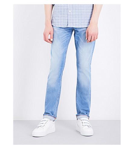 NUDIE JEANS Grim Tim slim-fit straight jeans (Wild+spirit