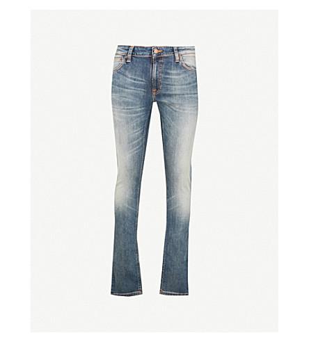 NUDIE JEANS Skinny Lin slim-fit skinny jeans (Shimmering power