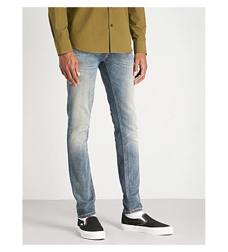 NUDIE JEANS Skinny Lin slim-fit skinny jeans (Shimmering+power