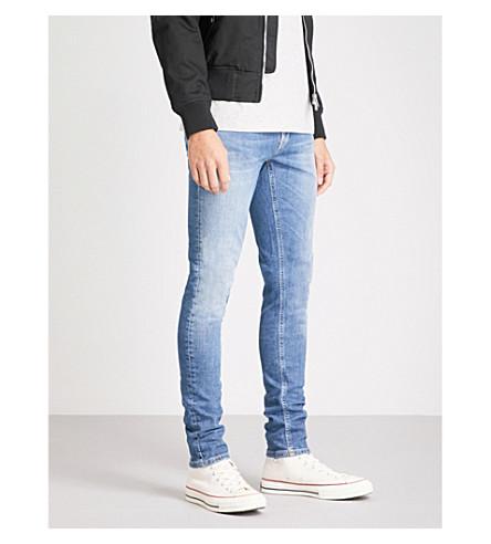 NUDIE JEANS Skinny Lin slim-fit skinny jeans (Celestial