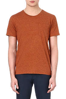 NUDIE JEANS Patch pocket t-shirt