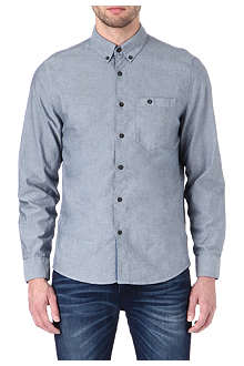 NUDIE JEANS Chambray Oxford shirt