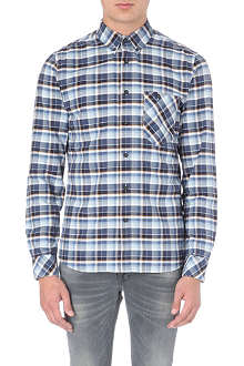 NUDIE JEANS Stanley Oxford checked shirt