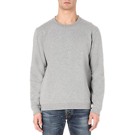 NUDIE JEANS Organic Clean sweatshirt (Grey