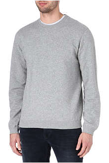 NUDIE JEANS Crew-neck cotton-jersey sweatshirt