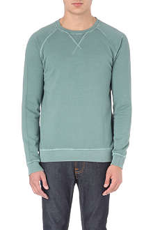 NUDIE JEANS Sawyer cotton sweatshirt