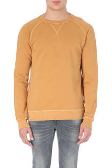 NUDIE JEANS Sawyer cotton sweatshirt
