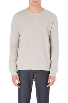 NUDIE JEANS Backbone organic cotton sweatshirt