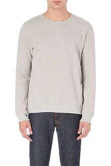 NUDIE JEANS Backbone organic cotton sweatshirt