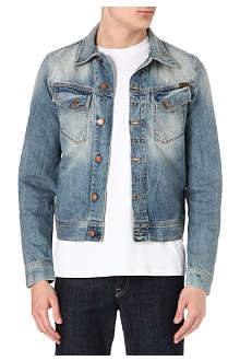 NUDIE JEANS Conny washed denim jacket