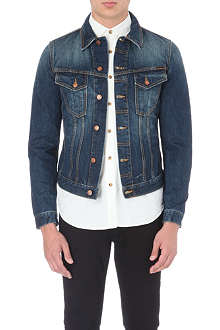NUDIE JEANS Perry washed denim jacket
