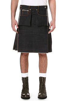 NUDIE JEANS Denim kilt