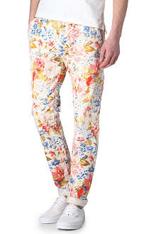 SCOTCH & SODA Floral chinos