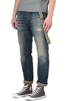 SCOTCH & SODA Brewer loose-fit tapered jeans