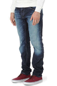 SCOTCH & SODA Duke slim tapered cliffhanger jeans