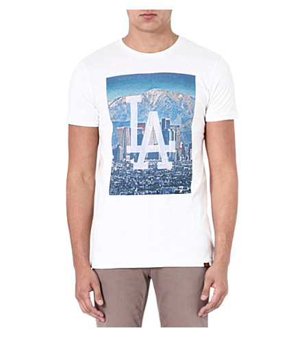7 FOR ALL MANKIND LA t-shirt (White