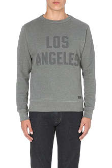 7 FOR ALL MANKIND LA cotton-jersey sweatshirt