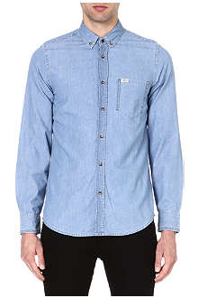 7 FOR ALL MANKIND Regular-fit denim shirt