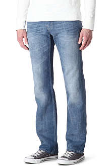 7 FOR ALL MANKIND Standard regular-fit Diamond Bar jeans