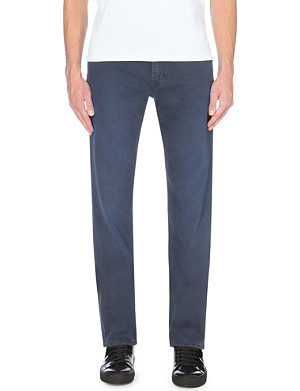 7 FOR ALL MANKIND Slim-fit straight leg jeans