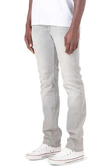 7 FOR ALL MANKIND Slimmy rain steel slim-fit tapered jeans