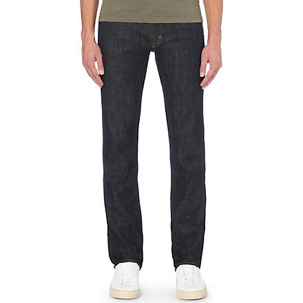 7 FOR ALL MANKIND Slimmy Hollywood slim-fit jeans (Rinse