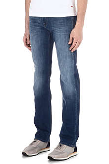 7 FOR ALL MANKIND Slimmy Sunset Light slim-fit straight jeans