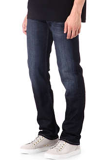 7 FOR ALL MANKIND Slimmy metal rain jeans