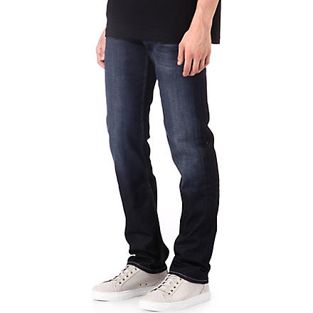 7 FOR ALL MANKIND Slimmy metal rain jeans (Grey