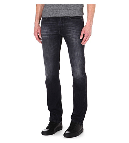 7 FOR ALL MANKIND Slimmy slim-fit tapered (Grey